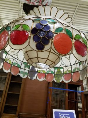 Antique Tiffany style ceiling light fixture for Sale in Rockville, MD