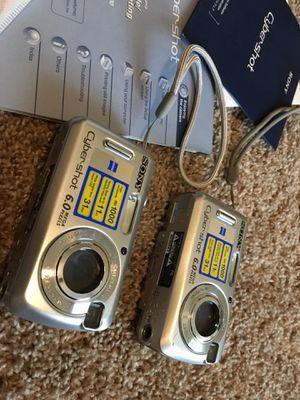 Two SONY DSC-S2100 Cyber-shot digital still cameras. for Sale in Hendersonville, TN