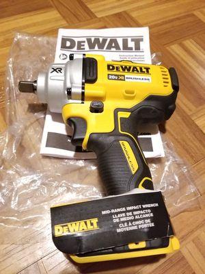 """Dewalt 1/2"""" Impact Wrench Brushless XR 20V for Sale in Norwalk, CA"""
