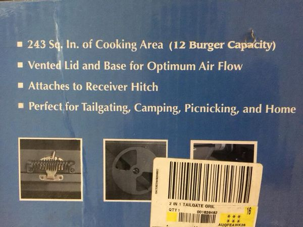 Backyard Classic TailGate Grill for Sale in Houston, TX ...