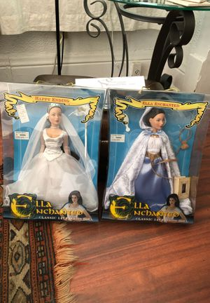 """Ella enchanted 14"""" Barbie $60 for one $110 for both for Sale in Hampton, VA"""