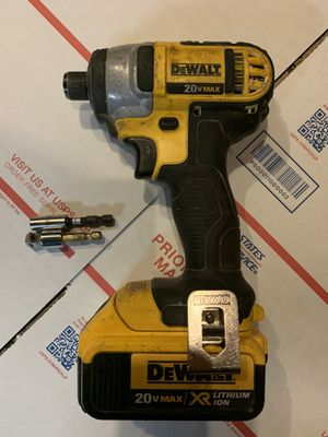 Dewalt 20v impact with battery for Sale in San Leandro, CA