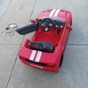 Mustang Kids Driving Car for Sale in Escondido, CA