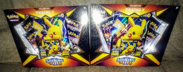Pokemon TCG Shining Fates Pikachu V Boxes for Sale in Clovis, CA