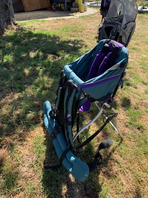 Child carrier hiking backpacks for Sale in Federal Way, WA