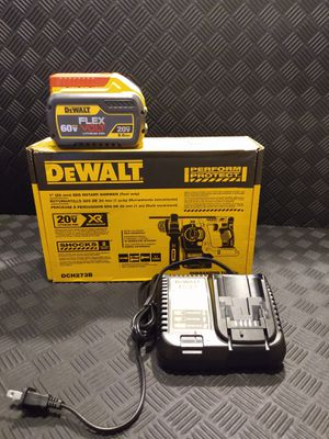 DeWalt rotary hammer , 9.0ah flex battery and charger brand new $315 for Sale in Webster, TX