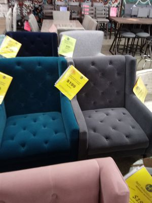 Grey Or Blue Accent Chair for Sale in Greensboro, NC