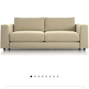 Crate and Barrel Peyton Sofa Macey Cashmere for Sale in Salinas, CA