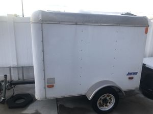 White single axle enclosed trailer for Sale in Lehi, UT