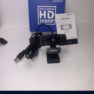 Webcam 1080P Full HD With Microphone & Autofocus for Sale in Loma Linda, CA