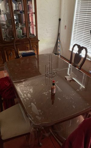 Dining table with china cabinet for Sale in Dallas, TX