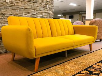 Yellow Convertible Sofa for Sale in Bellevue,  WA