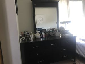 7 drawer dresser with mirror take home for only $60 for Sale in San Bruno, CA