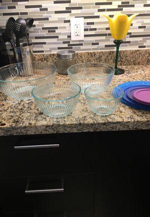 8 Piece Pyrex Glass mixing bowl set-NEW for Sale in Phoenix, AZ