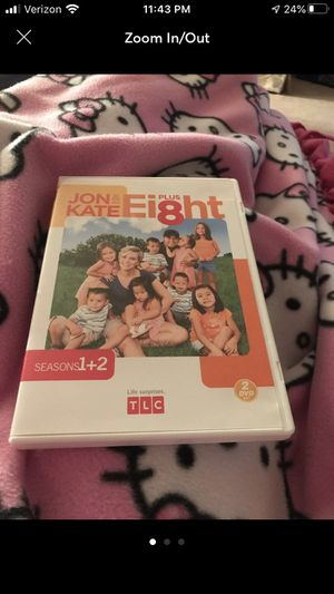 Jon and Kate Plus 8 season 1 & 2 for Sale in Normal, IL