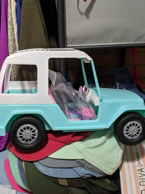 Barbie Jeep for Sale in NORTH DINWIDDIE, VA