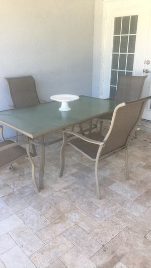 Patio furniture set for Sale in Lutz, FL