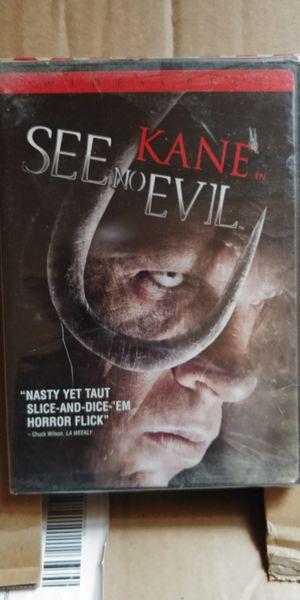 KANE/ SEE NO EVIL for Sale in Binghamton, NY