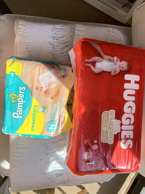 Diapers/baby for Sale in Irvine, CA