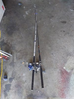 Fishing rods for Sale in Laurel, MD