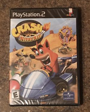 Sony PS2 PlayStation 2 CRASH NITRO-KART...Bandicoots and Bad Guys...Start Your Engines Video Game - Brand New / Factory Sealed for Sale in Barrington, IL