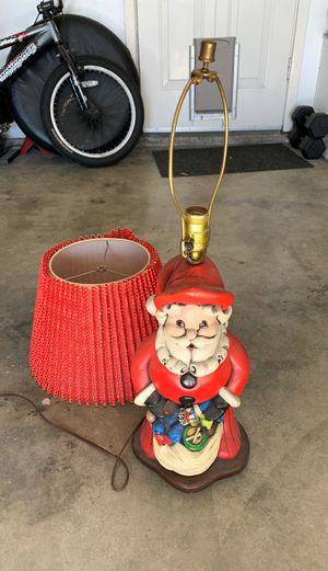 Vintage Santa lamp Christmas 60s for Sale in Huntington Beach, CA