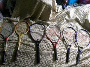 7 TENNIS RACKETS & 5 RACQUETBALL RACKETS. READ DETAILS for Sale in St. Louis, MO
