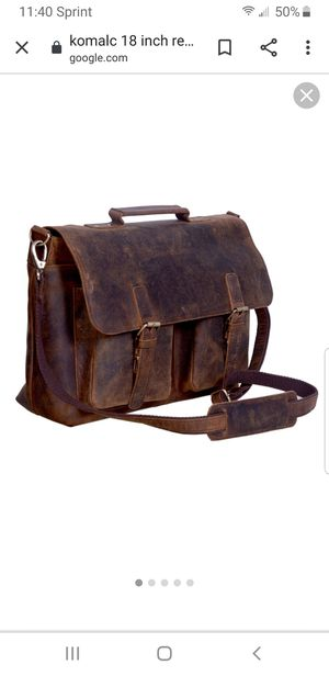 Leather laptop bag / Tote for Sale in Ceres, CA