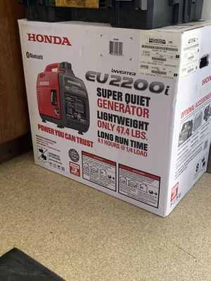 Honda generator brand new for Sale in Richmond, CA