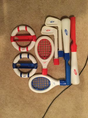 Licensed official nerf Nintendo Wii Wii U sports accessories for Sale in Great Falls, VA