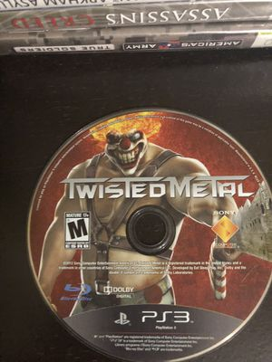 Twisted Metal PS3 - Tested - Fast Shipping! for Sale in Atlanta, GA