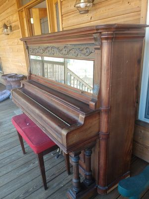 Antique Piano made by Haines Brothers, New York for Sale in Ashville, AL