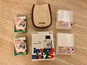 Fujifilm Instax Mini 25 Polaroid Instant Film Camera for Sale in San Diego, CA