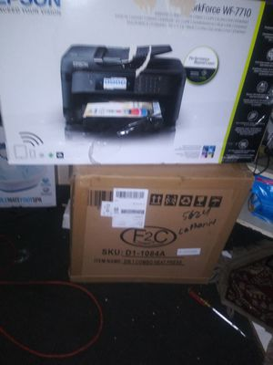 Workforce 7710 printer and 5in1 heat press for Sale in Philadelphia, PA