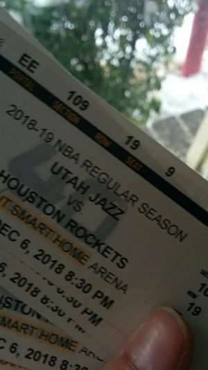 5 Jazz vs rockets tickets tonight for Sale in Salt Lake City, UT