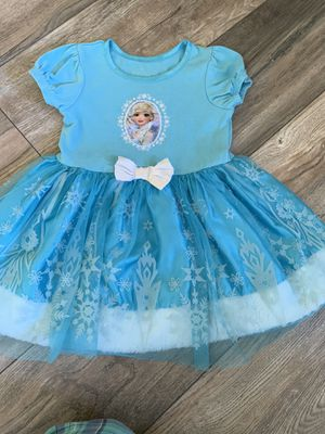 4t Disney Princess Frozen Elsa Dress for Sale in Rancho Cucamonga, CA