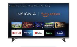 """Insignia™ - 55"""" Class LED 4K UHD Smart Fire TV Edition TV for Sale in Alpharetta, GA"""