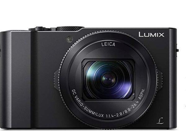 Panasonic LUMIX LX10 4K Digital Camera, 20.1 Megapixel