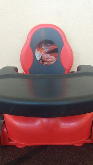 Cars booster portable high chair for Sale in Lake Elsinore, CA
