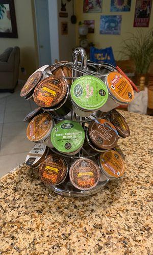 Keurig pod holder with pods for Sale in Santa Clarita, CA