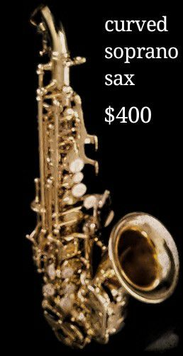 Curved Soprano Saxophone for Sale in Clementon, NJ