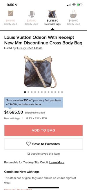 Louis Vuitton Oden bag for Sale in Sunnyvale, CA