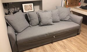 HOLMSUND Sleeper Sofa - Gray color - IKEA for Sale in San Jose, CA
