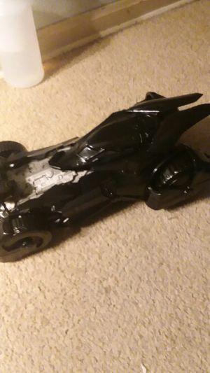"""Black Version of Frank Miller's Batmobile Toy Car. Fits standard 6-7"""" figures. for Sale in Jefferson City, MO"""