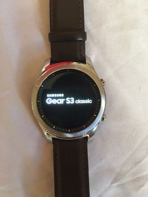 Samsung gear S3 classic for Sale in Washington, DC