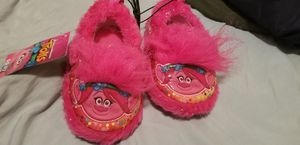 Trolls Poppy Slippers for Sale in Puyallup, WA