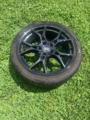 Enkei 18x8 Vulcan with tires for Sale in Rockville, MD