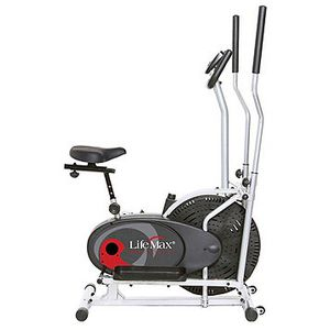 Exercise !! LifeMax 2-in-1 Cardio Elliptical Trainer/Exercise Bike for Sale in Torrance, CA