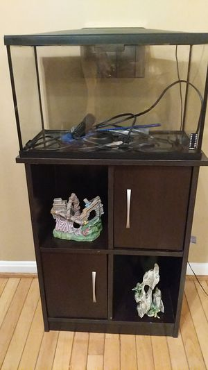 Fish tank and accessories for Sale in Sterling, VA