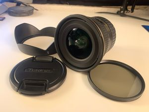 Tokina 17-35mm F/4 AT-X Pro FX Lens for Nikon Digital SLR Cameras for Sale in San Diego, CA